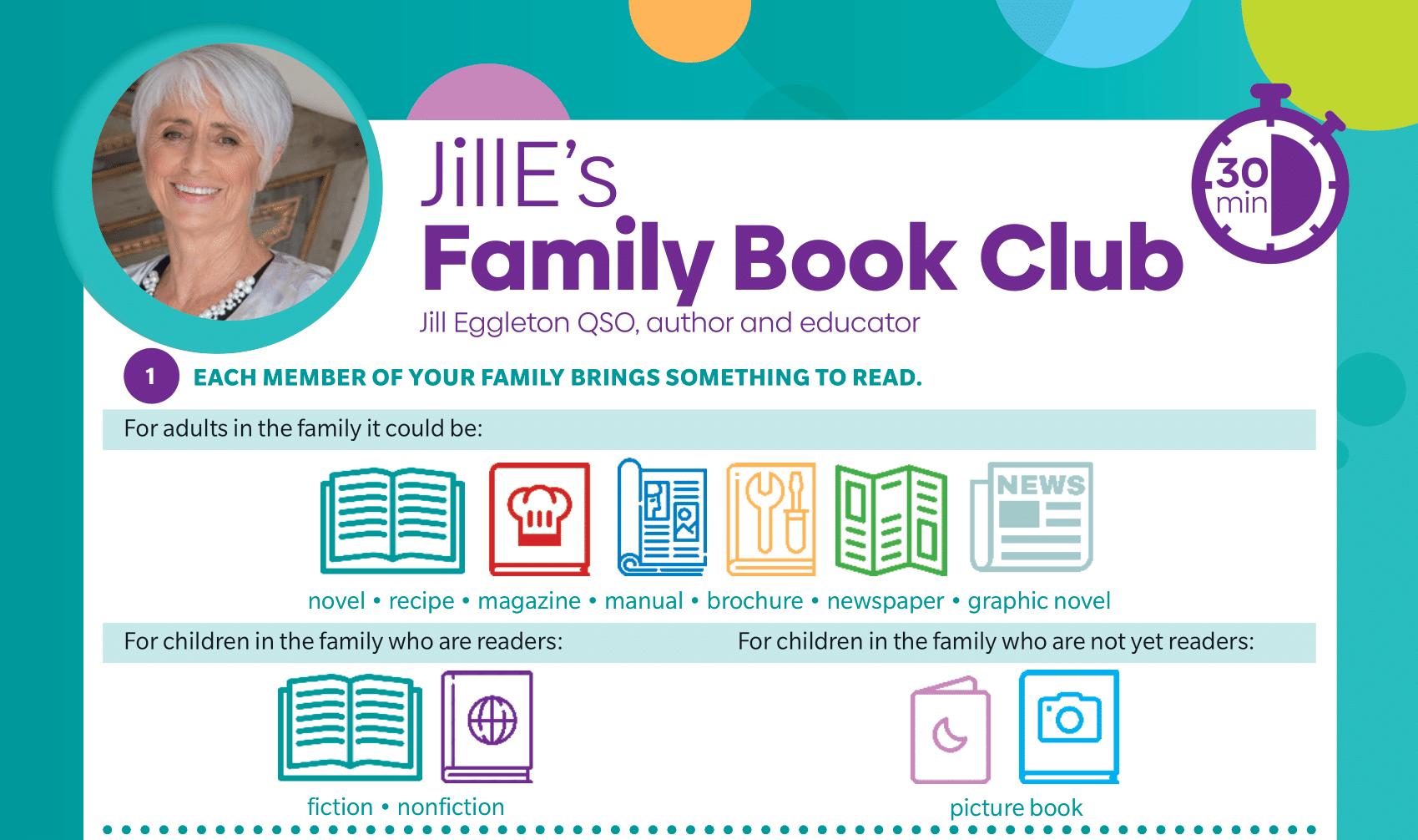 JillE's Family Book Club
